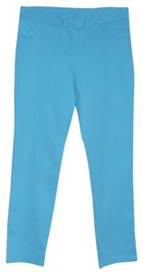 Rendezvous Capri/Cropped Pants Aqua