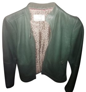 Banana Republic Green Leather Jacket