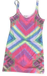 Billabong short dress Multicolored neon on Tradesy