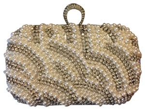 Kate Landry Grey Clutch