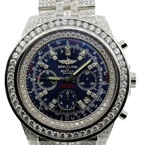 Breitling 15CT DIAMOND MEN'S BREITLING FOR BENTLEY WATCH WITH APPRAISAL
