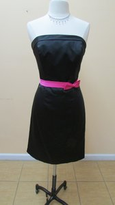 Alfred Angelo Black/Fuchsia 7007 Dress