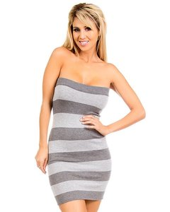 My Story short dress Dark gray/Light gray on Tradesy
