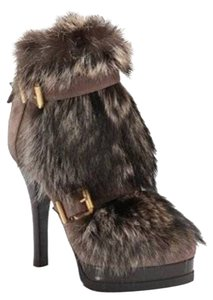 Fendi Brown fur Boots