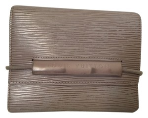 Louis Vuitton (authentic Pre-owned) LOUIS VUITTON GRAY EPI BIG SIZE WALLET