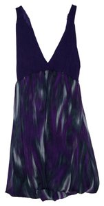 Forever 21 short dress Purple/Multi on Tradesy
