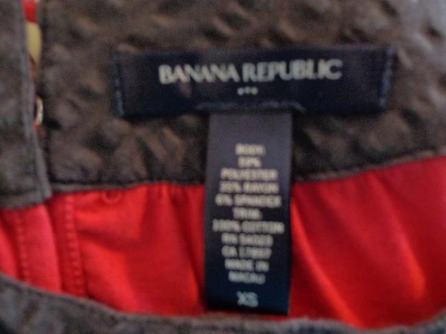 Banana Republic Top Pink with Blue Collar
