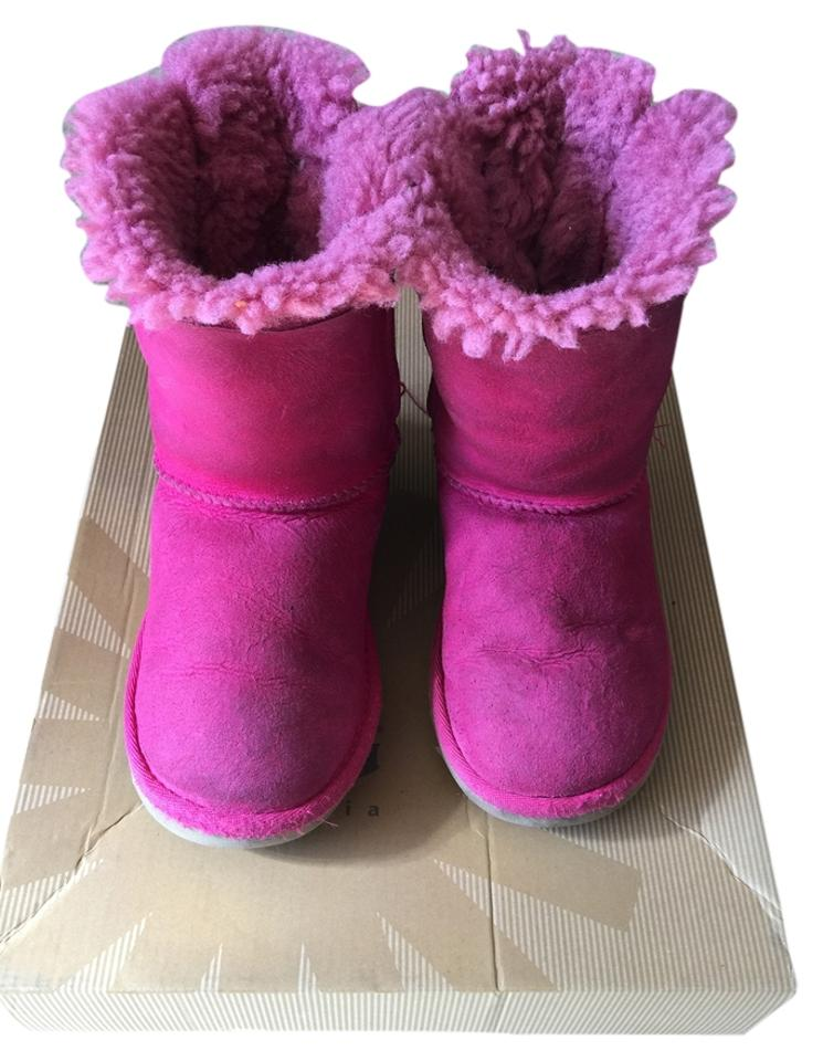 e63089f4ba9 Pink Bailey Bows Boots/Booties