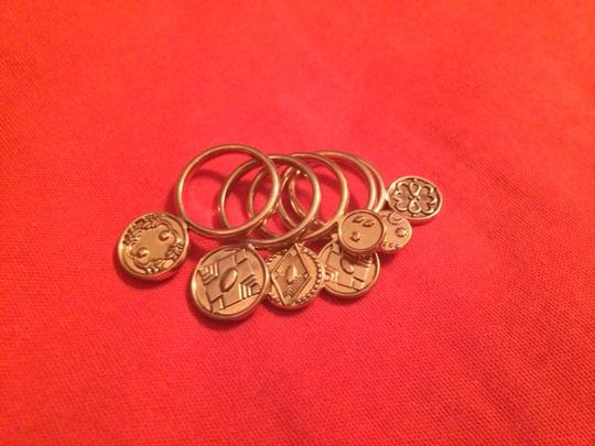 House of Harlow 1960 Gold Stacked Coin Rings