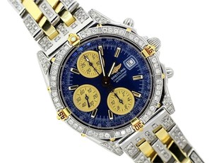 Breitling BREITLING CHRONOMAT 6CT DIAMOND WATCH