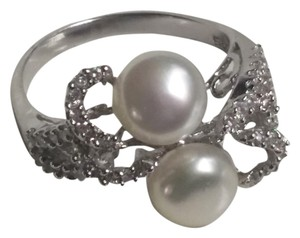 Other Sterling Silver Pearl Ring