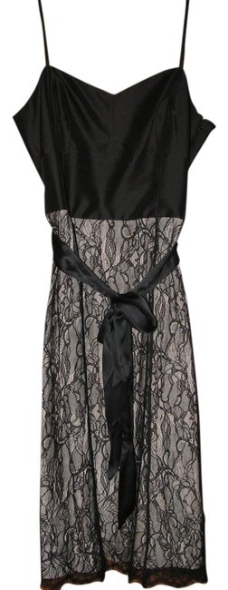 Preload https://item1.tradesy.com/images/ann-taylor-black-lace-wcream-inset-knee-length-cocktail-dress-size-10-m-789290-0-0.jpg?width=400&height=650