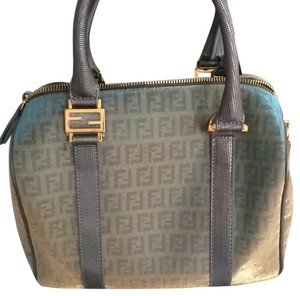 Fendi Satchel in Platinum Light Blue