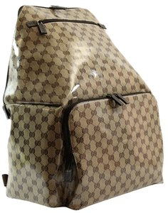 Gucci 179606 Crystal Canvas Xl Gg Travel Backpack