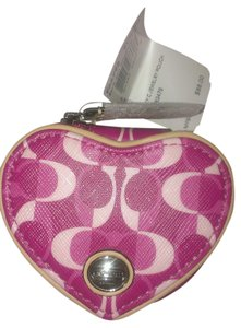 Coach PEYTON DREAM C HEART JEWELRY POUCH