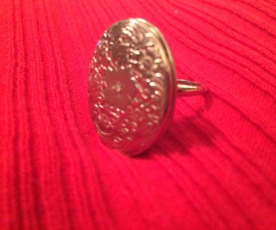 Michael Anthony Sterling Silver Locket Ring