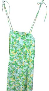 Lilly Pulitzer short dress Green Frogs White Lining Inside on Tradesy