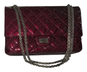 Chanel Mademoiselle Patent Vitage Handbag Shoulder Bag