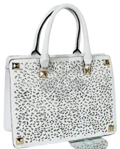 Fasionette Style Boutique Tote in White