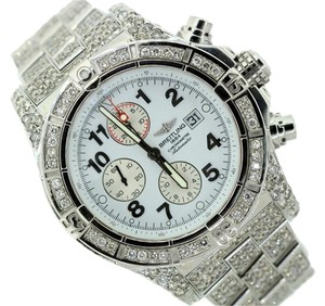 Breitling BREITLING CHRONOMAT 11CT DIAMOND WATCH