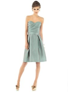 Alfred Sung Green Other D538 Traditional Bridesmaid/Mob Dress Size 2 (XS)