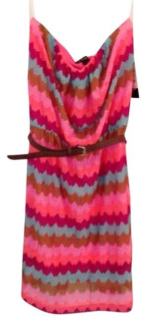 As U Wish short dress Multi-colored Belted Tube Cute Spring Summer on Tradesy
