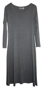 Grey Maxi Dress by Gypsy Junkies Midi Cotton Nasty Gal Designer Los Angeles