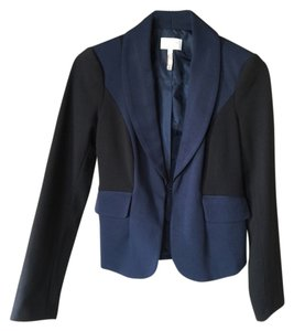 Laundry by Shelli Segal Laundry by Shelli Segal Black and Navy color block blazer