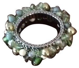 Soft Surroundings Funky-stretch Green Bracelet