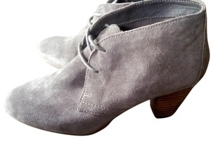 ALDO Lace Up Suede Grey Boots