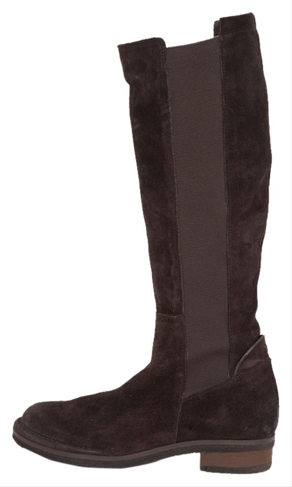 Alberto Fermani Riding Brown Suede Knee High Riding Fermani Boots/Booties 4c15e4