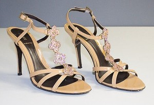 Fendi Strappy Brown Pumps