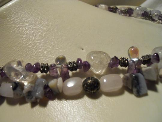 Other Natural stone double strand necklace