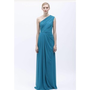 Monique Lhuillier Turquoise Dress