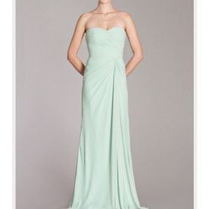 Monique Lhuillier Mint Dress