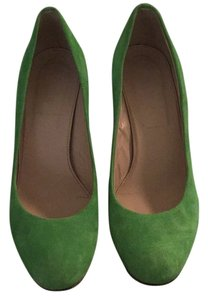 J.Crew Lime Green Pumps