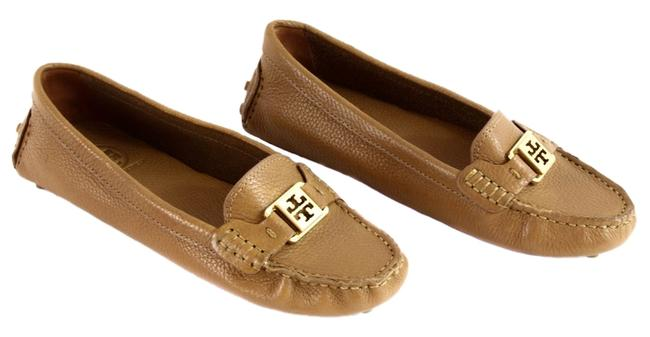 Item - Brown Kendrick Tumbled Leather Loafers Flats Size US 10 Regular (M, B)