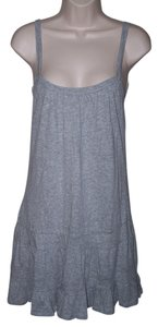 Ambiance Apparel short dress Gray Small Junior Spaghetti Strap Ruffle on Tradesy