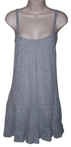 Ambiance Apparel short dress Gray Small Junior Ruffle New on Tradesy