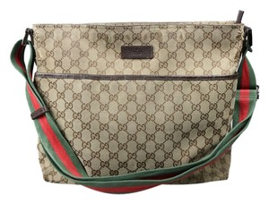 Gucci Beige/Ebony Messenger Bag