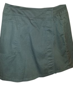 Banana Republic Skirt Short Skort Army Green
