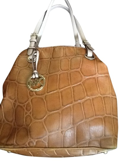 Michael Kors Tote Faux Croc Shoulder Bag