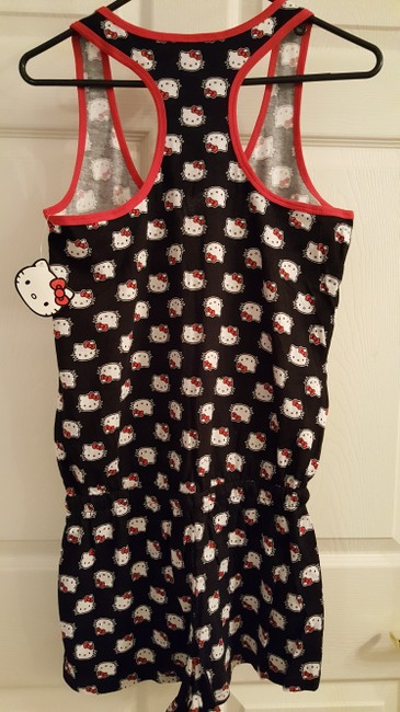 Hello Kitty Hello Kitty Ladies Sanrio Romper Sleepwear Large
