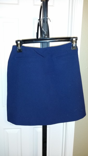 GAP GAP 2 PC Blue Sleeveless Shell Top and Mini Skirt Set Size 4 Medium