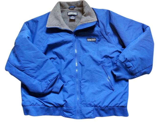 Item - Blue with Grey Interior Squall Jacket Coat Size 10 (M)