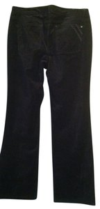 White House | Black Market Velvet Boot Cut Pants Black Velvet 10S