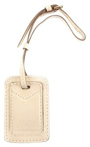Marc Jacobs Marc Jacobs Cream Leather Luggage/Handbag Tag