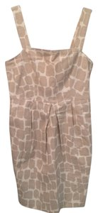 Banana Republic Strappy Pockets Linen Look Some Spandex Dress