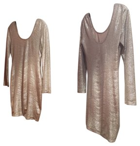 BCBGeneration short dress Gold on Tradesy