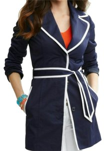 Banana Republic Water-resistant Piped Trench Coat
